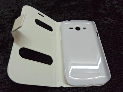 Flipcover Samsung Galaxy Grand I9082 Flipcase Samsung Grand I9082 flip cover table talk for samsung galaxy grand duos i9082 white