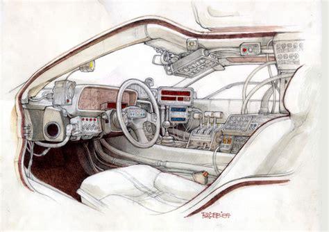 delorean time machine blueprints delorean time machine blueprints www imgkid the