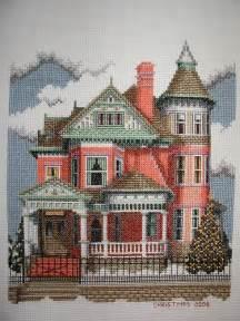 Debbie Patrick Cross Stitch Design #161   Ferris Mansion (   Flickr   Photo Sharing!