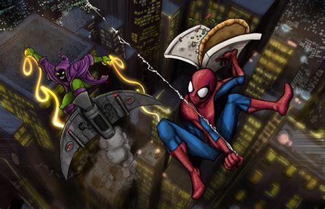 spiderman vs goblin film ita spider man vs green goblin by simonwilchesc on deviantart