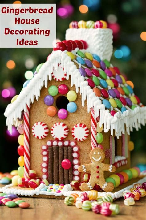 1000 gingerbread house decorating ideas on
