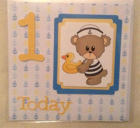 Handmade 1st Birthday Gifts - 17 best images about 1st birthday card ideas on