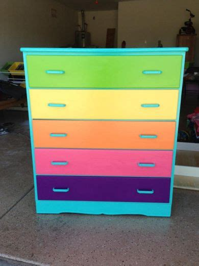 colorful dressers best 25 rainbow room ideas on rainbow room