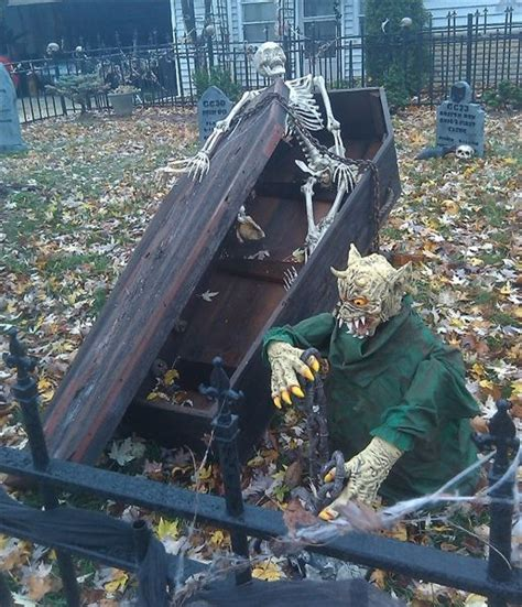 Haunted Backyard Ideas Haunted Yard Spooktacular