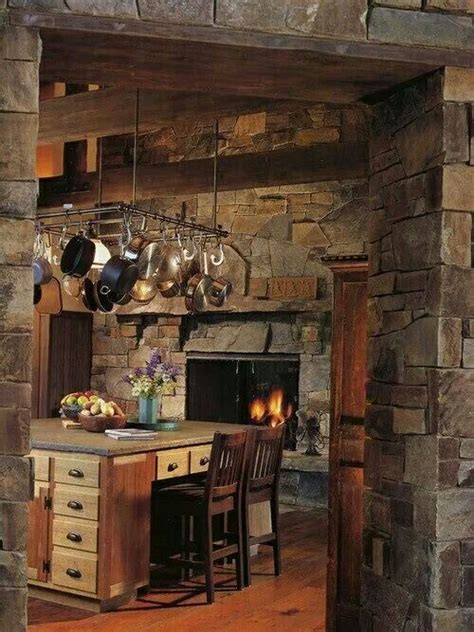 Kitchens With Fireplaces In Them by 25 Best Ideas About Kitchen Fireplaces On