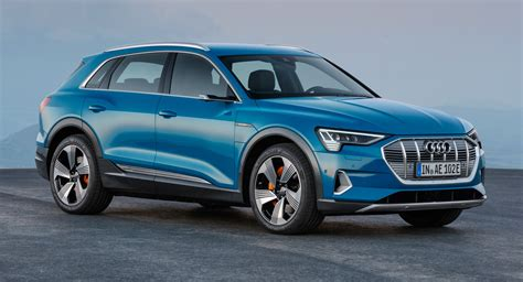 audi e tron suv is marque s first fully fledged ev carscoops