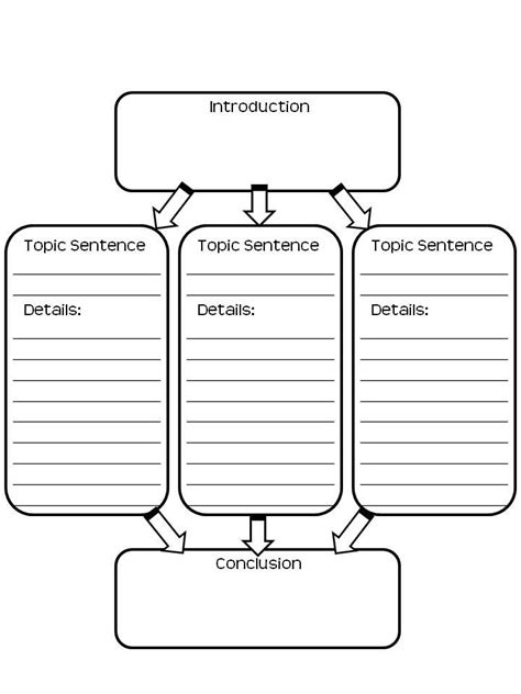 printable graphic organizer for expository writing free graphic organizer for writing fifthgradeflock com
