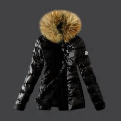 best black friday deals for outerwear moncler women down coat fur collar black m1093 best service