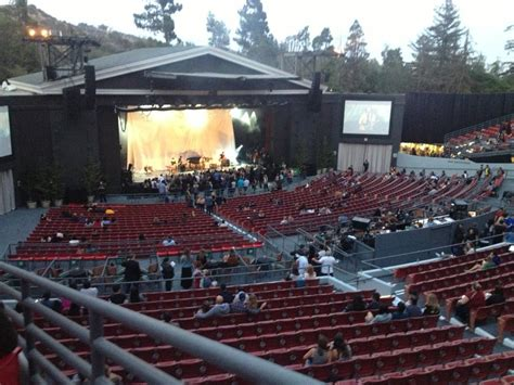 greek theater section b a view from the second level at the greek yelp