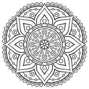 sand mandala coloring pages mandalas a z mandalas for the soul