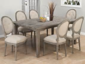 Grey Dining Room Furniture Pieces Included In This Set