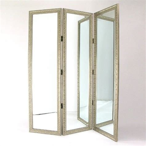 Room Dividers With Photo Frames Mirror With Frame Size Dressing Room Divider In