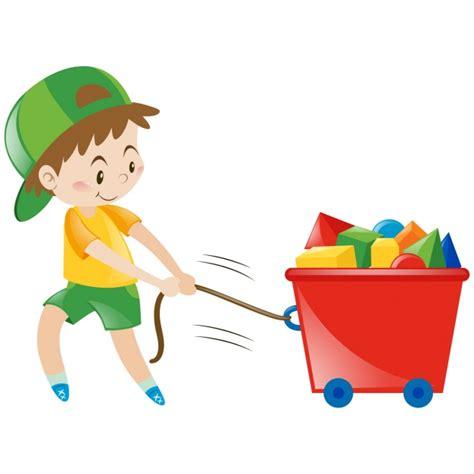 imagenes de niños jugando en un columpio ni 241 os jugando con juguetes descargar vectores gratis