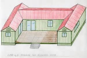 u shaped houses 2 bedroom u shaped house plans