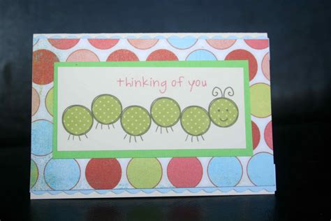 Handmade Thinking Of You Cards - cards by erin thinking of you