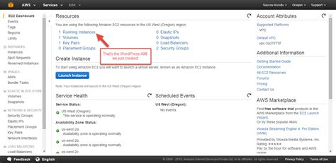 console ec2 how to install in aws web services