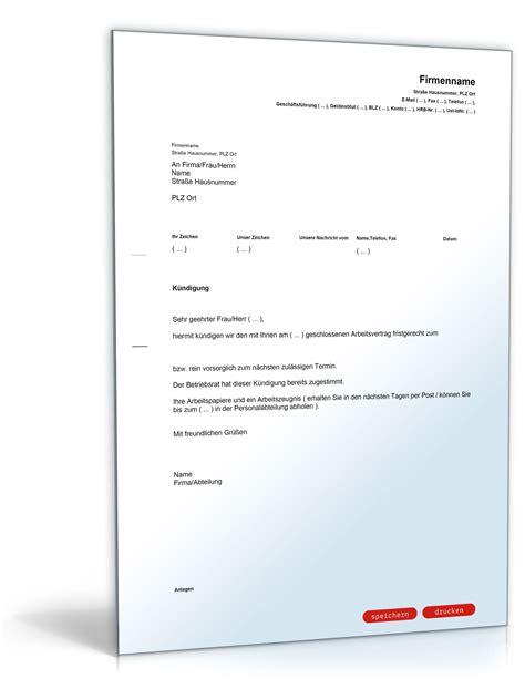 Vorlage Kündigung Arbeitsvertrag Durch Arbeitgeber Kostenlos K 252 Ndigung Arbeitsvertrag Arbeitgeber Muster Yournjwebmaster