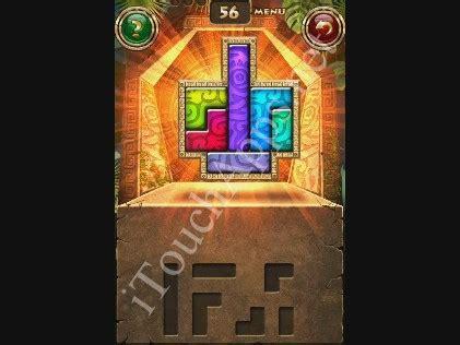 100 Floors Free Level 57 by Montezuma Puzzle Level 56 Solution