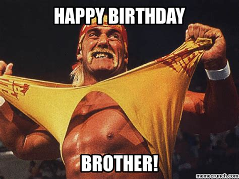 Hulk Hogan Meme - happy birthday