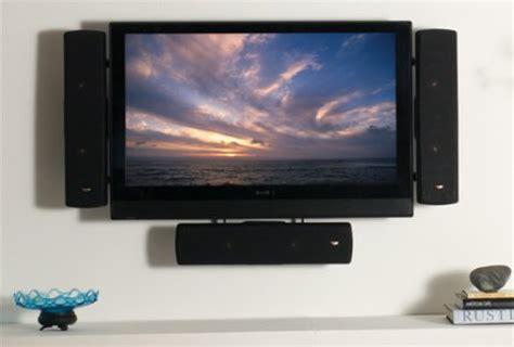 sanus flat panel tv speaker mounts | ubergizmo