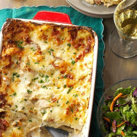 chicken alfredo lasagna recipe taste of home