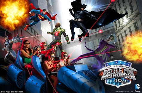 Six Flags Theme Park Launches Trailer For 2016 S Rides