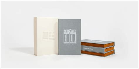 drink this water books how the drinkable book delivers safe water