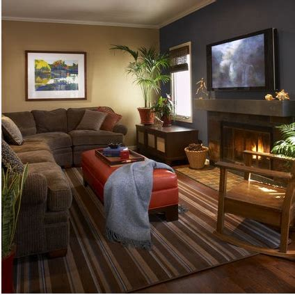family room colors accent wall update new trends in accent walls bossy