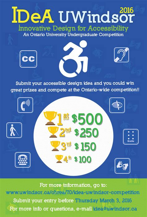 idea design contest idea uwindsor competition university of windsor epicentre
