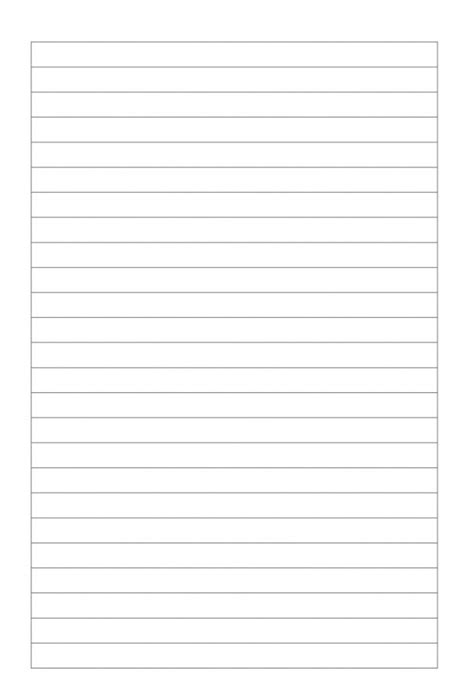 Liniertes Blatt pdf herunterladen