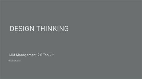 Design Thinking Jam   einf 252 hrung in design thinking
