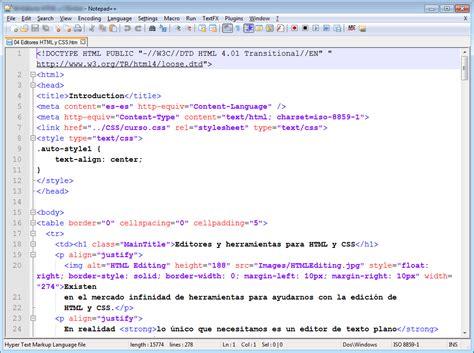 insertar imagenes en html y css los 10 mejores editores gratuitos o casi de html css y