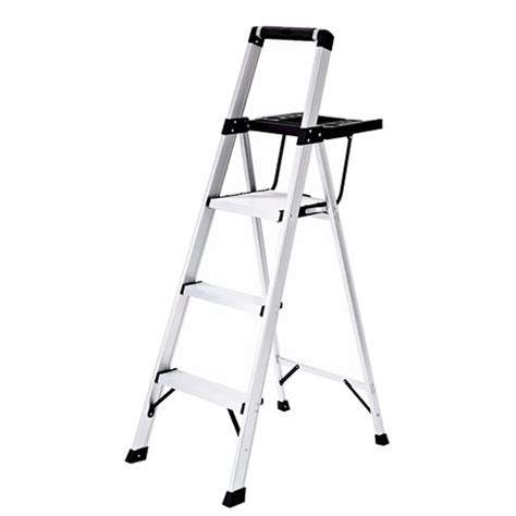 Lightweight 3 Step Stool by Rubbermaid Lightweight Aluminum Step Stool With Oversized