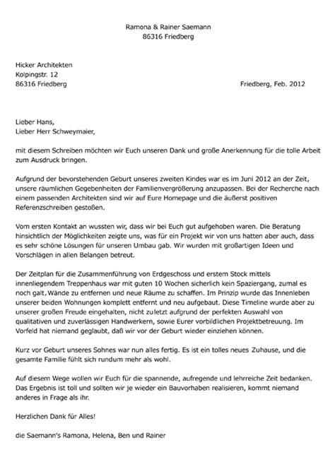 Bewerbungsschreiben Praktikum Grundschule Hicker Architekten Friedberg Bayern