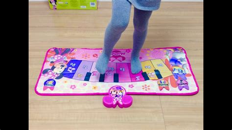 Disney Musical Mat Minnie Mouse - ミニーマウス ミュージックマット ピアノ disney minnie mouse piano mat