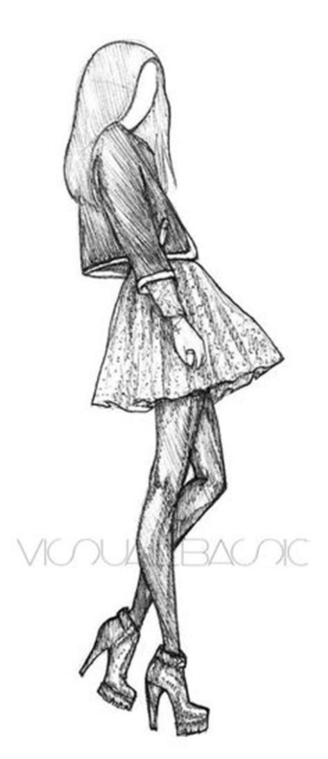 Sketches Channel by M 228 Dchen Mit Kleid To Draw M 228 Dchen