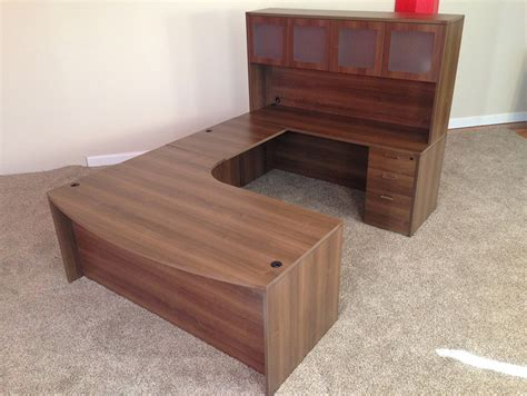 U Desk Hipster As Eff 100 Solid Wood Computer Desk With Baystate Office Furniture