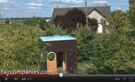 tiny cube house  medieval france       square feet