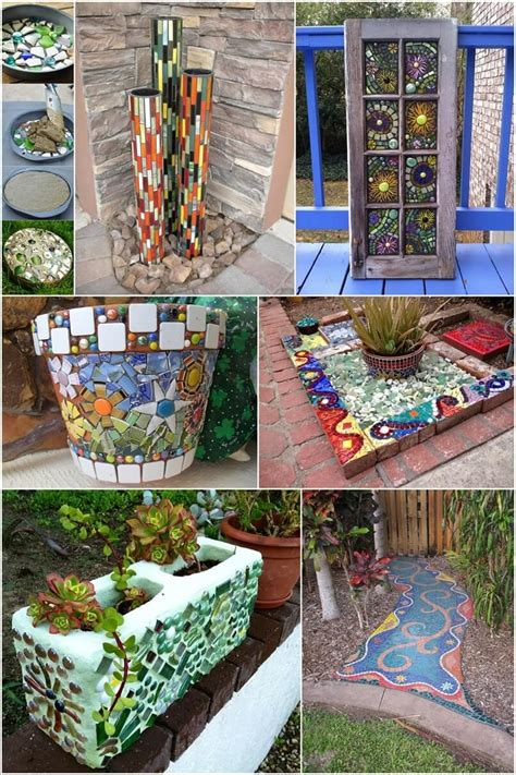 Mosaic Decorations For The Home 12 Diy Mosaic Garden Decor Projects
