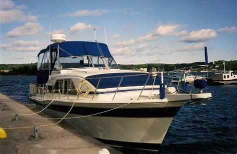 chris craft boats ontario chris craft 35 catalina 1984 used boat for sale in keswick