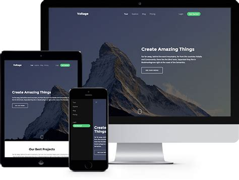 voltage free html5 bootstrap template freehtml5 co