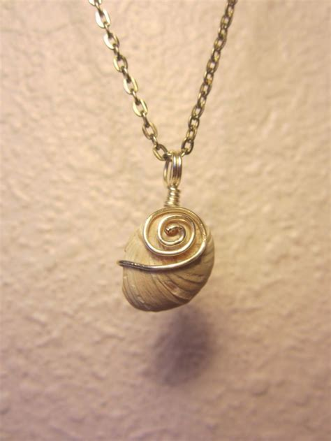 shell pendants jewelry wire wrapped shell pendant jewelry