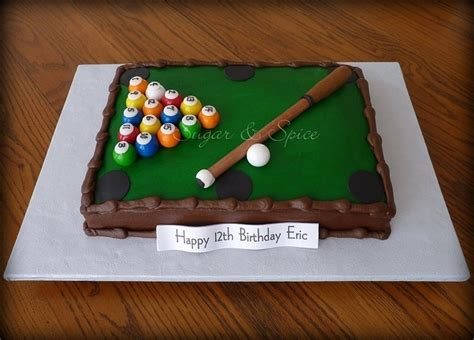 13 Best Pool Cues Images On Pinterest Pool Table Cake