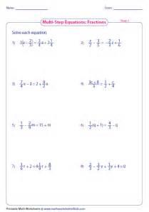 multi step equations worksheet 7589 abitlikethis