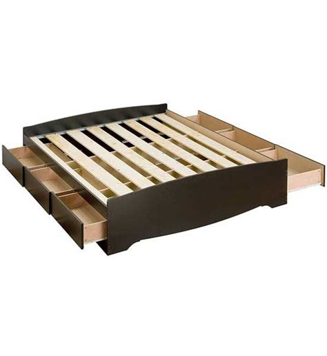 full platform storage bed in beds and headboards