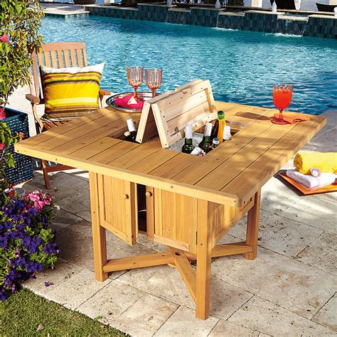 Patio Cooler Table 20 Modern Outdoor Accessories For A Summer Experience