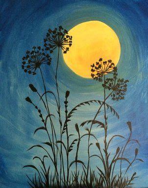 paint nite exles moonlit flowers paint nite buy tickets at paintnite