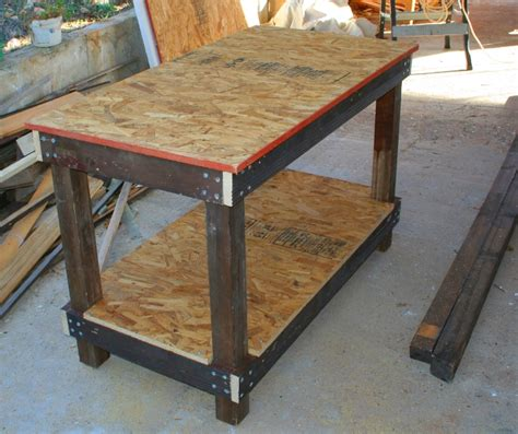 how to make a cheap bench diy cheap workbench plans wooden pdf build wood fire in