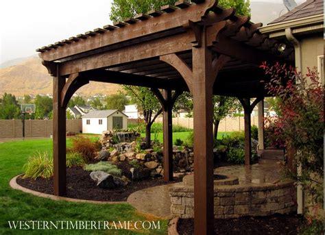 backyard pergola kits 424 best free standing pergolas images on pinterest free