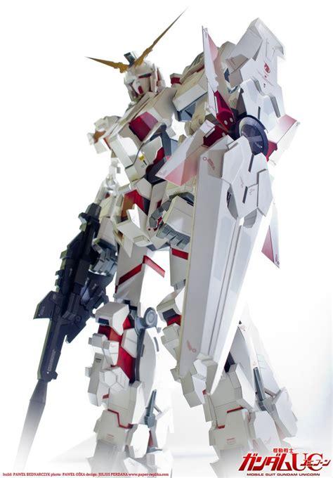Gundam Unicorn Papercraft - gundam unicorn rx 0 nt d mode papercraft by pablito77 on